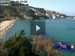 Live Video - Ikaria Web Cam from Livadi Beach in Armenistis